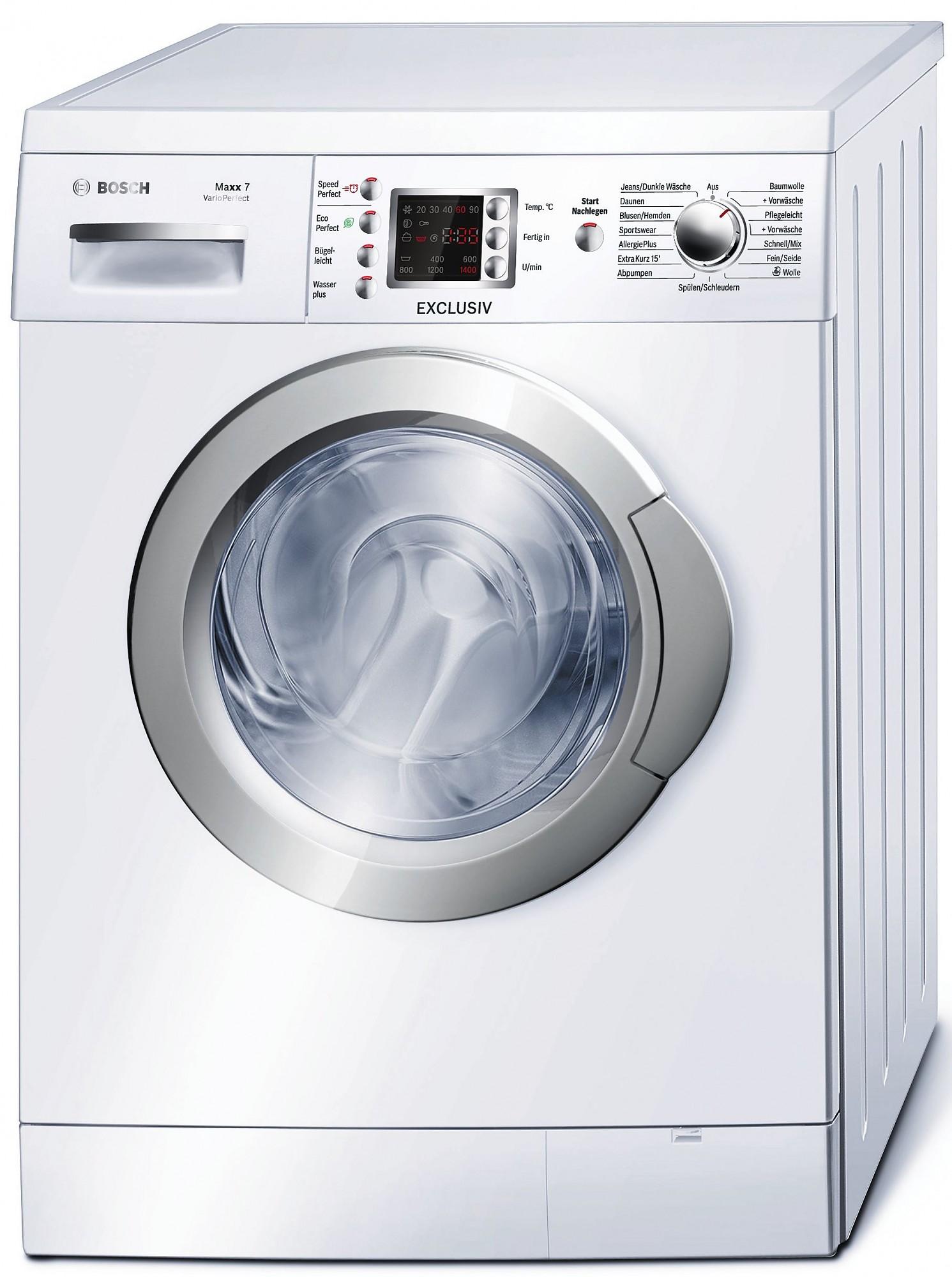 wae28496 maxx 7 varioperfect weiss bosch elektro gro exclusiv stand waschmaschinen. Black Bedroom Furniture Sets. Home Design Ideas